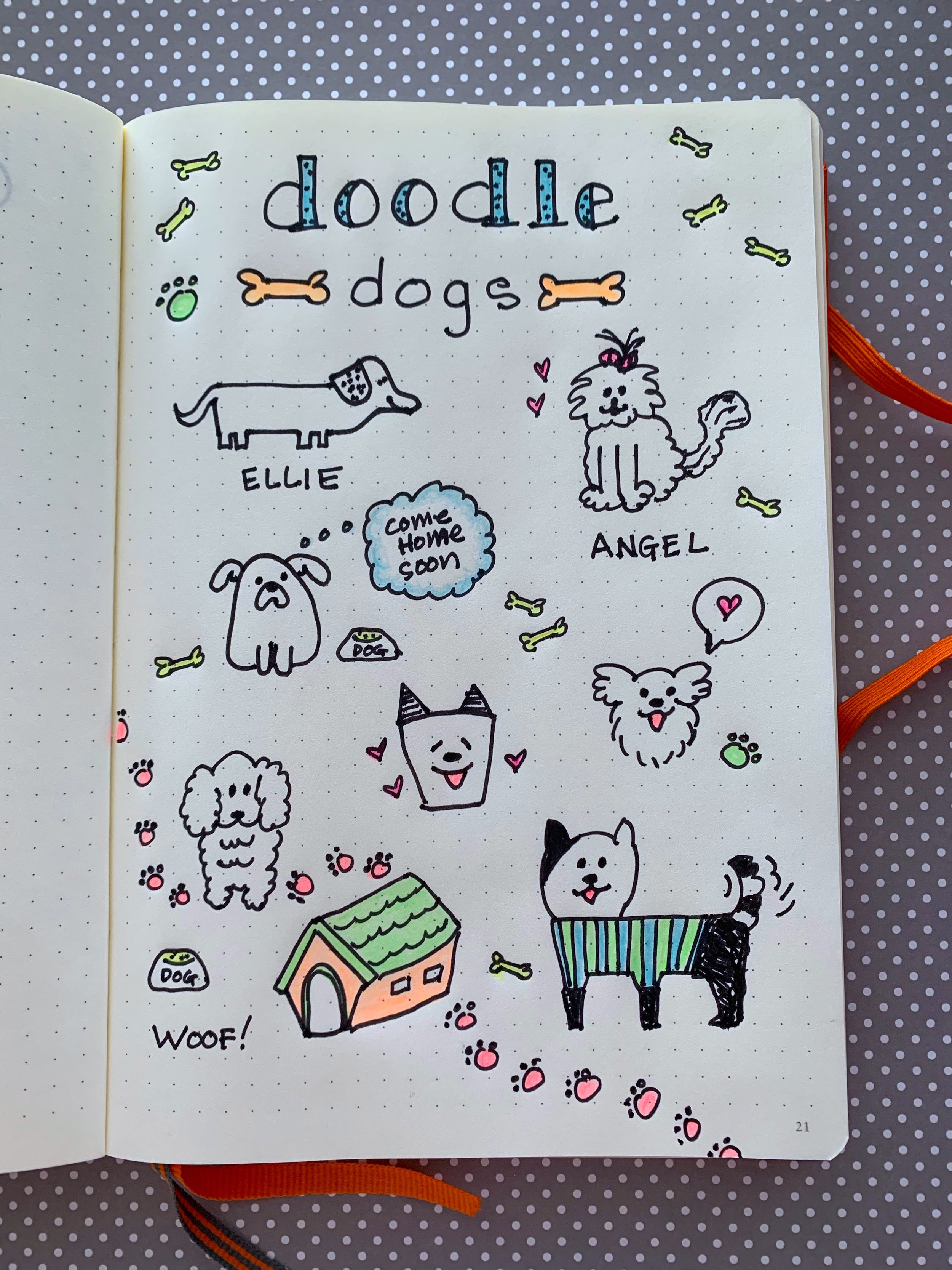 How To Draw Cute Dogs Sweet Planit