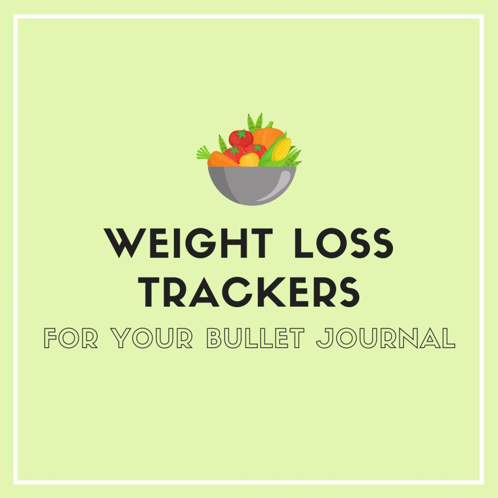 12 Bullet Journal Weight Loss Tracker Ideas Sweet Planit