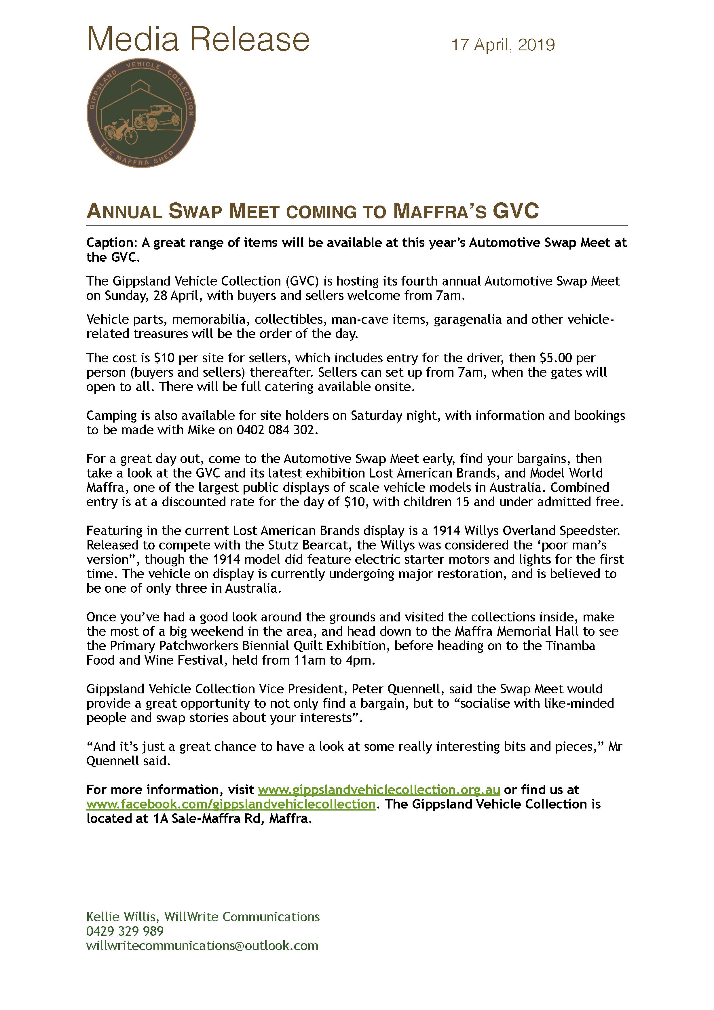 Media Release - Swap Meet 2019 - 17 April 19.jpg