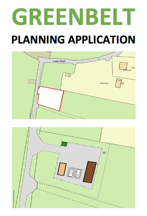 Planning Application - Application Number: 17/00875/FULAn application has been made on Plot 8 of the field to the North of Bakers Wood. The Field has Article 4 protection, but a dangerous precedent would be set if planning permission were gained as there are 129 separate plots. The application can be viewed online here: 17/00875/FULThe Planning Officer is Tony Franklin tony.franklin@southbucks.gov.ukThe application is for 'Change of use of land to residential use for one Gypsy Traveller Family. The site to contain one static caravan, one touring caravan, parking for two vehicles with associated hard standing, fencing and water treatment plant'.Any objection should be based on loss of amenity value, impact on the greenbelt (where development is not permitted), removal of existing hedgerows and environmental impact of development.4 June 2017