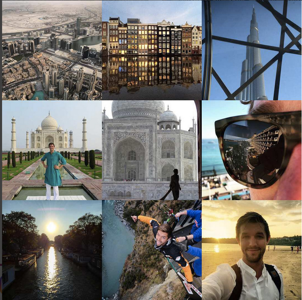 Snapshots from Marks life as the Backpacker Intern.