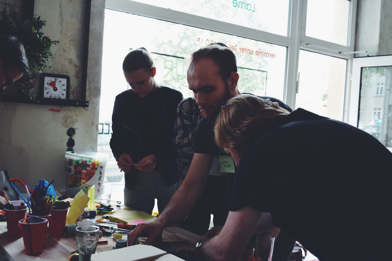 Workshop in the coliving space in Berlin Prenzlauer Berg
