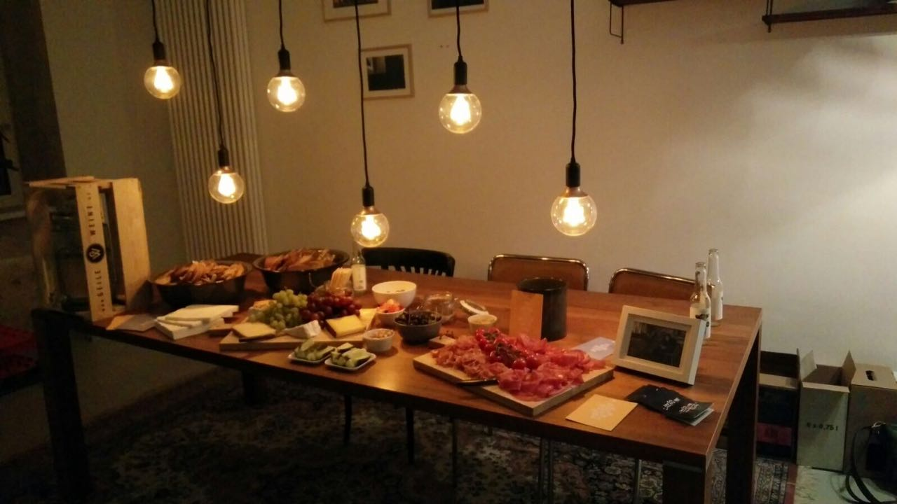 Cooking Workshop in our Event Space in Prenzlauer Berg