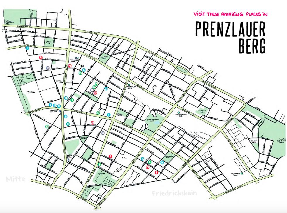 Restaurants, Doctors etc in Prenzlauer Berg