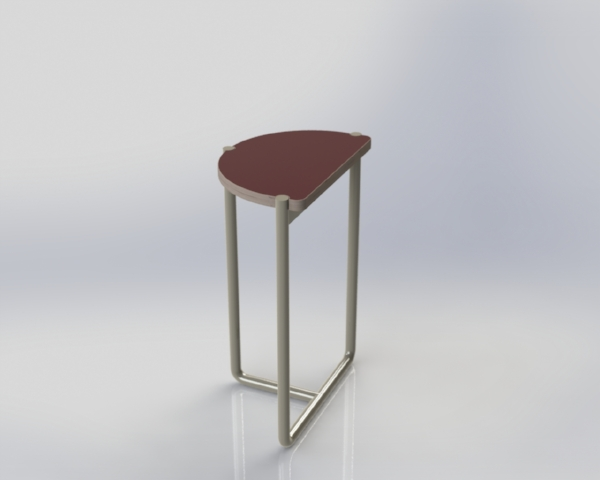 The stools are designed to be small and easy to store, but we think need to be a bit more comfortable!