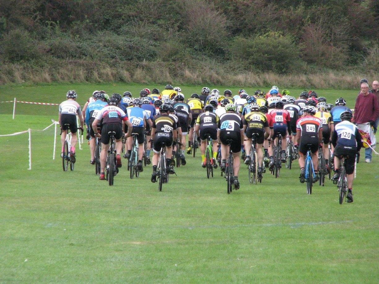 A large field racing from across the South East and London.
