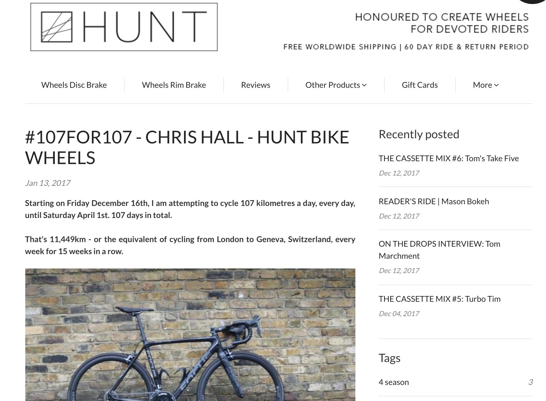 Hunt Bike Wheels