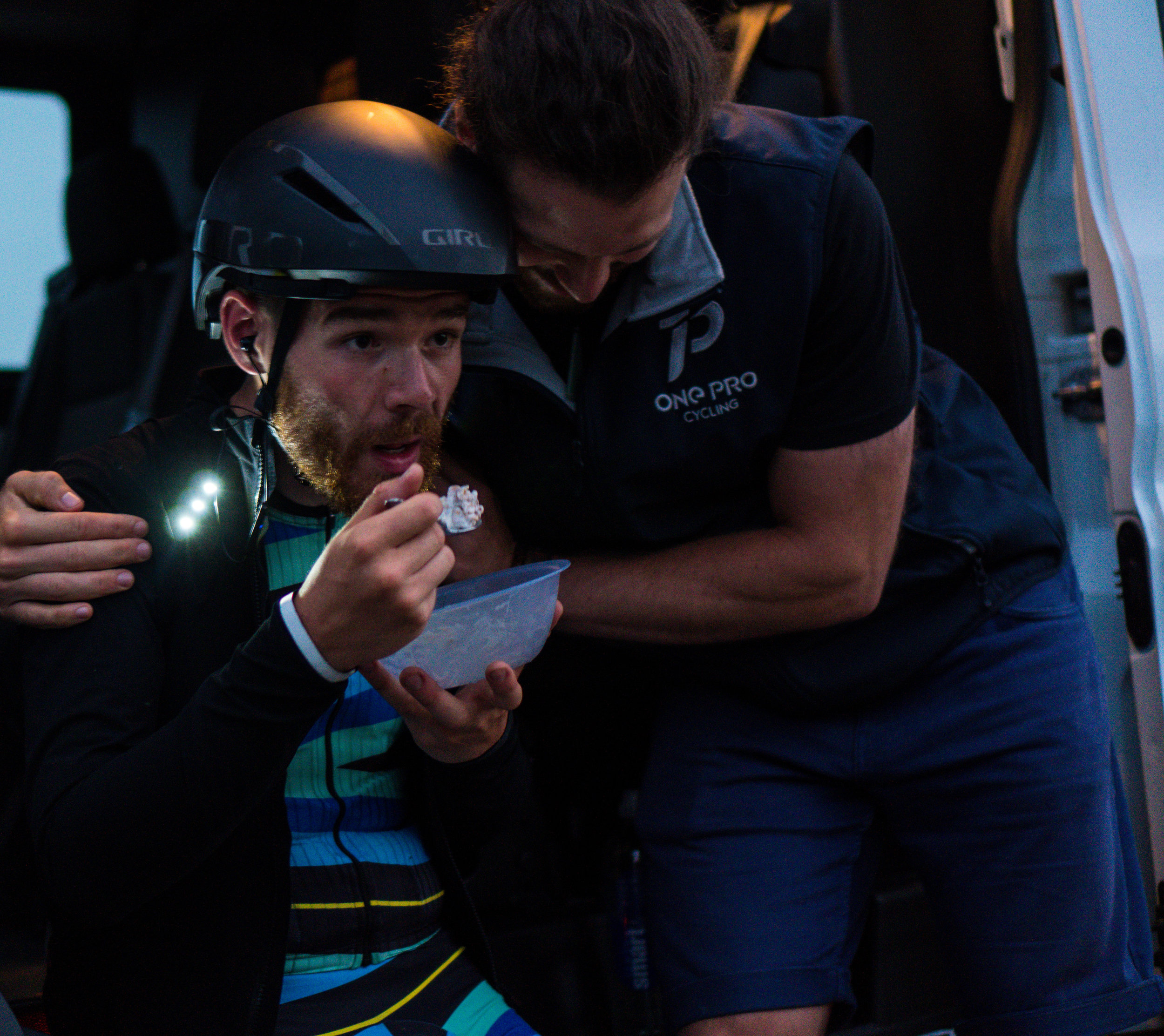 Will definitely looked after me and kept me fuelled up during the race (as well as provided cuddles.