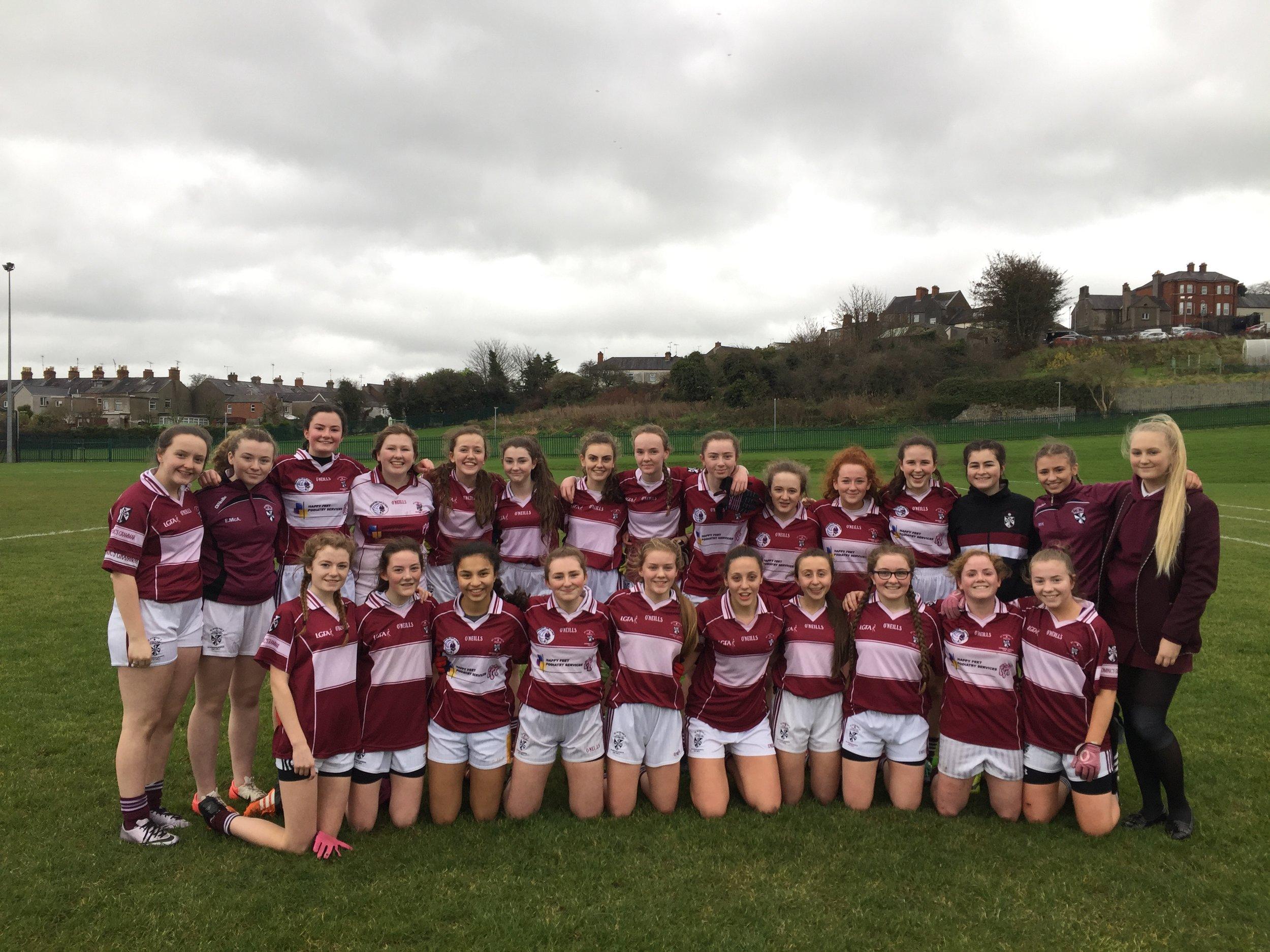 u16 gaelic team.JPG