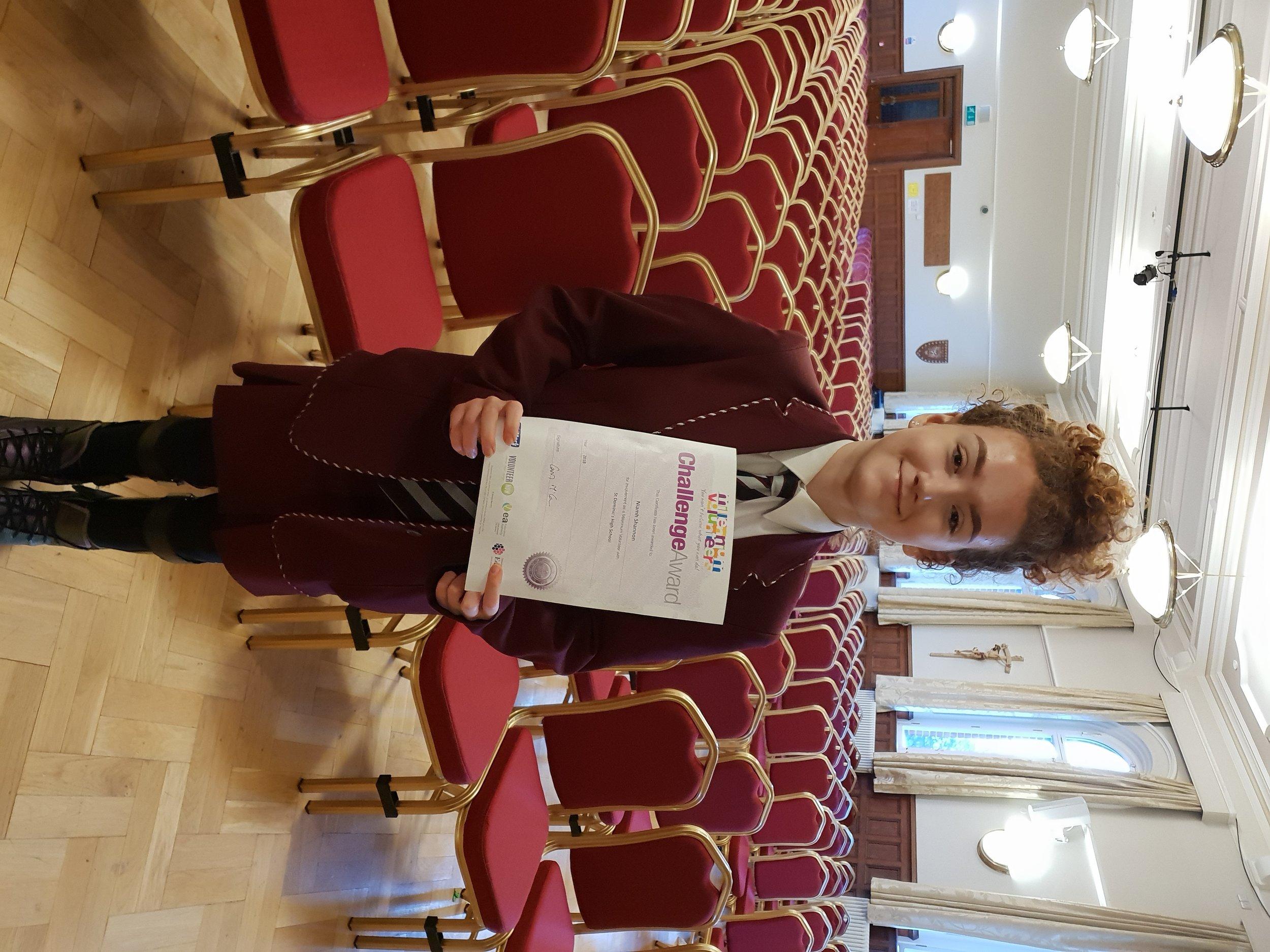 Niamh Shannon award 1 jan19.jpg
