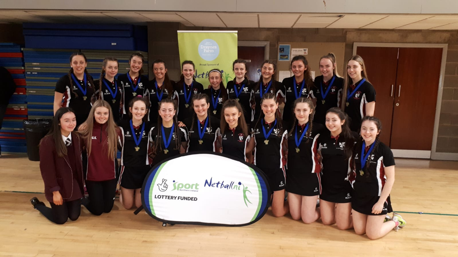 Senior and Intermediate Netball teams became NI League Champions..jpg