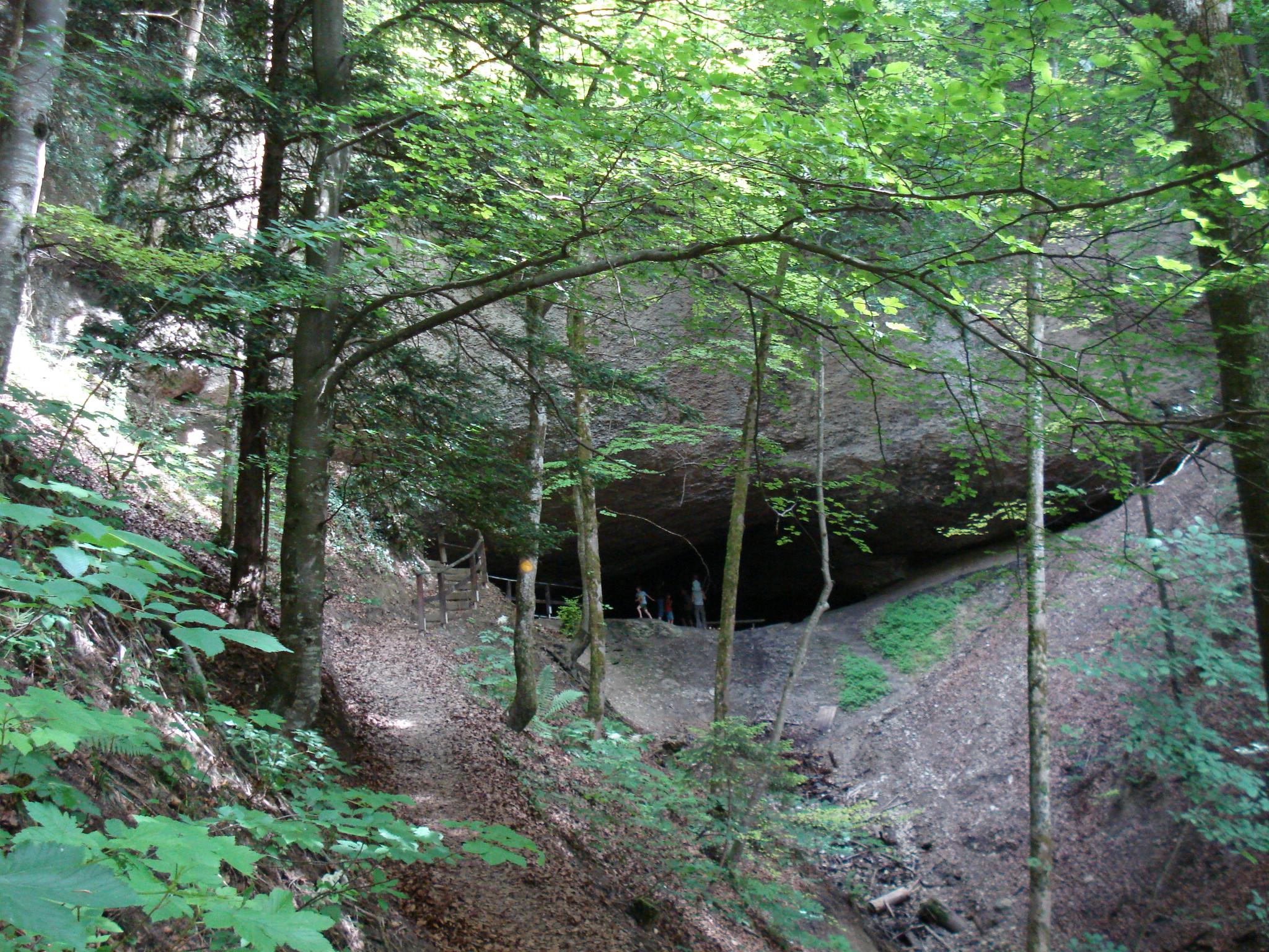 Täufer-Versteck, Höhle bei Wappenswil