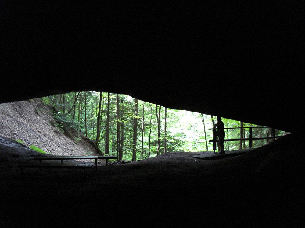 Täuferhöhle Wappenswil im Zürcher Oberland