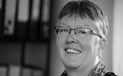 Heike Geist-Gallé, Mitarbeit in der Geschäftsführung der Schweizerischen Mennonitischen Mission (SMM), zuvor langjährige Dozentin am Bildungszentrum Bienenberg