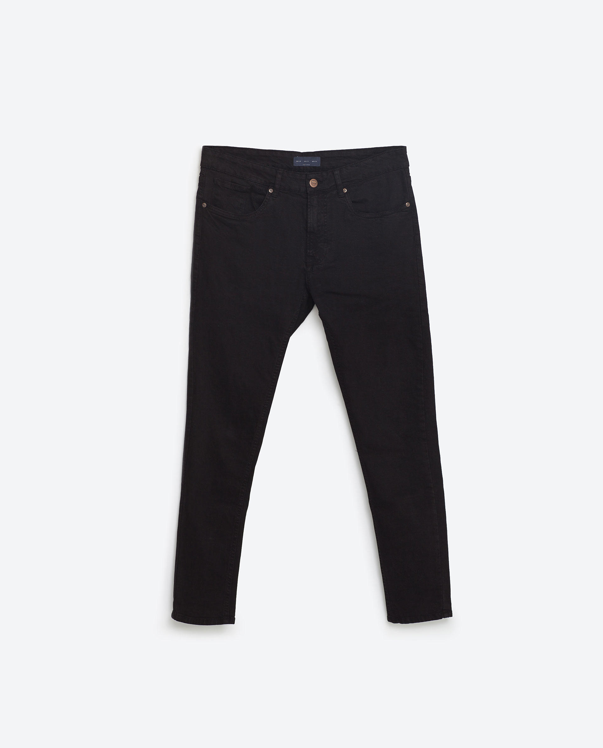 Super stretch trousers,£25.99 ( zara.com )