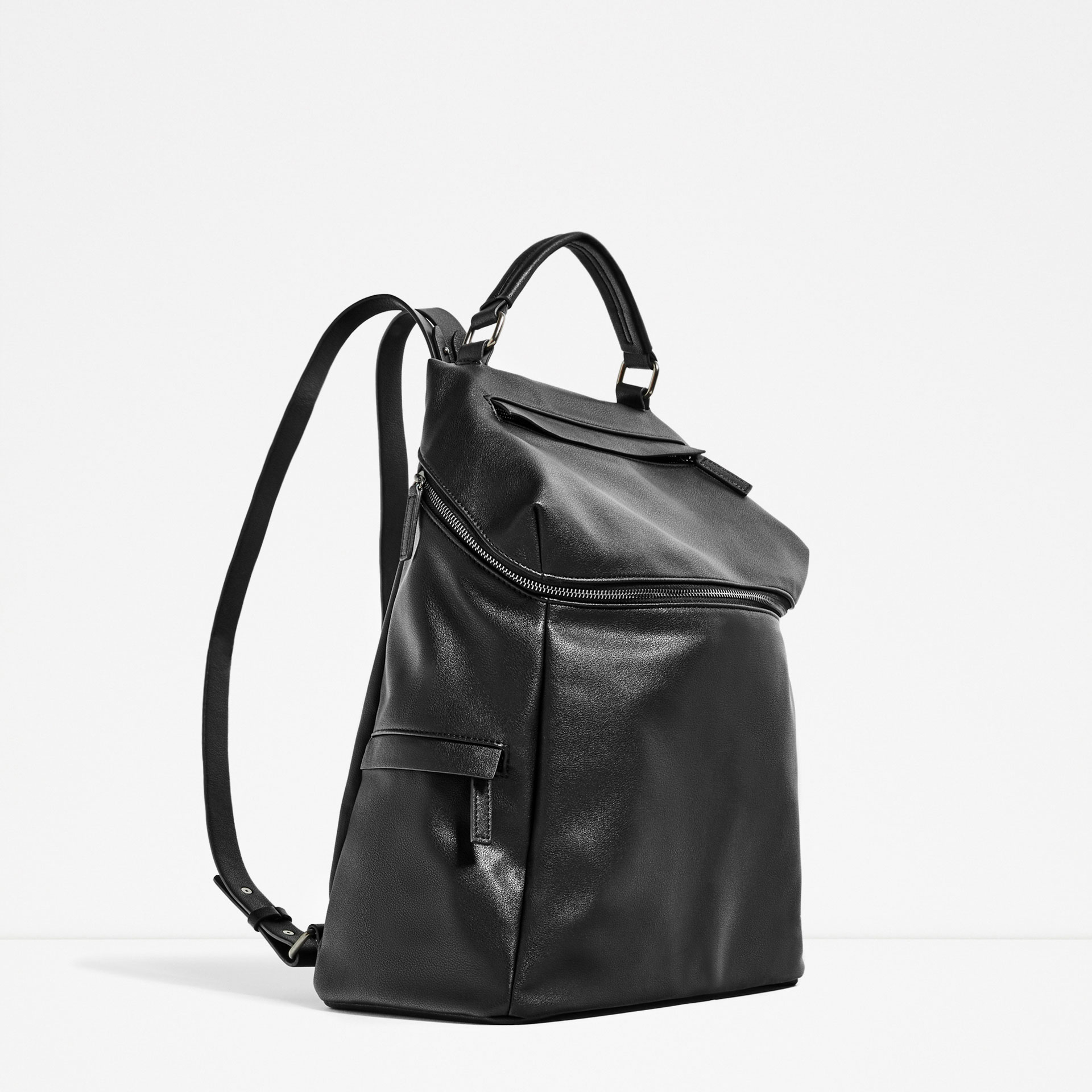 Smart black backpack, £49.99 ( zara.com )