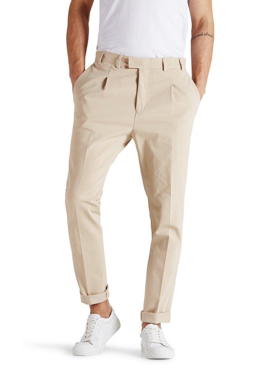 Khaki tailored trousers, £60 ( jackjones.com )