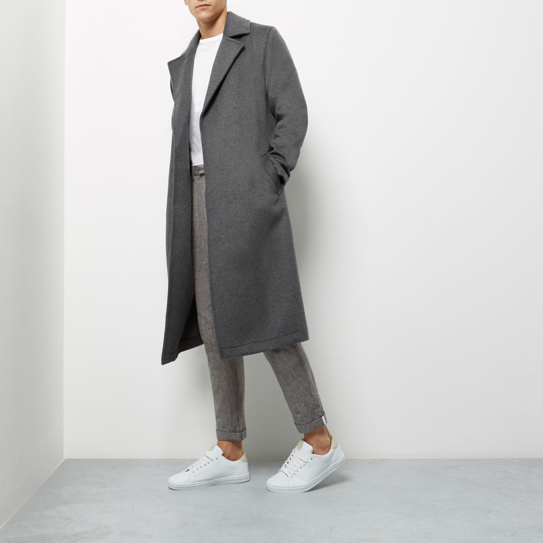 Wool wrap coat, £130 ( riverisland.com )
