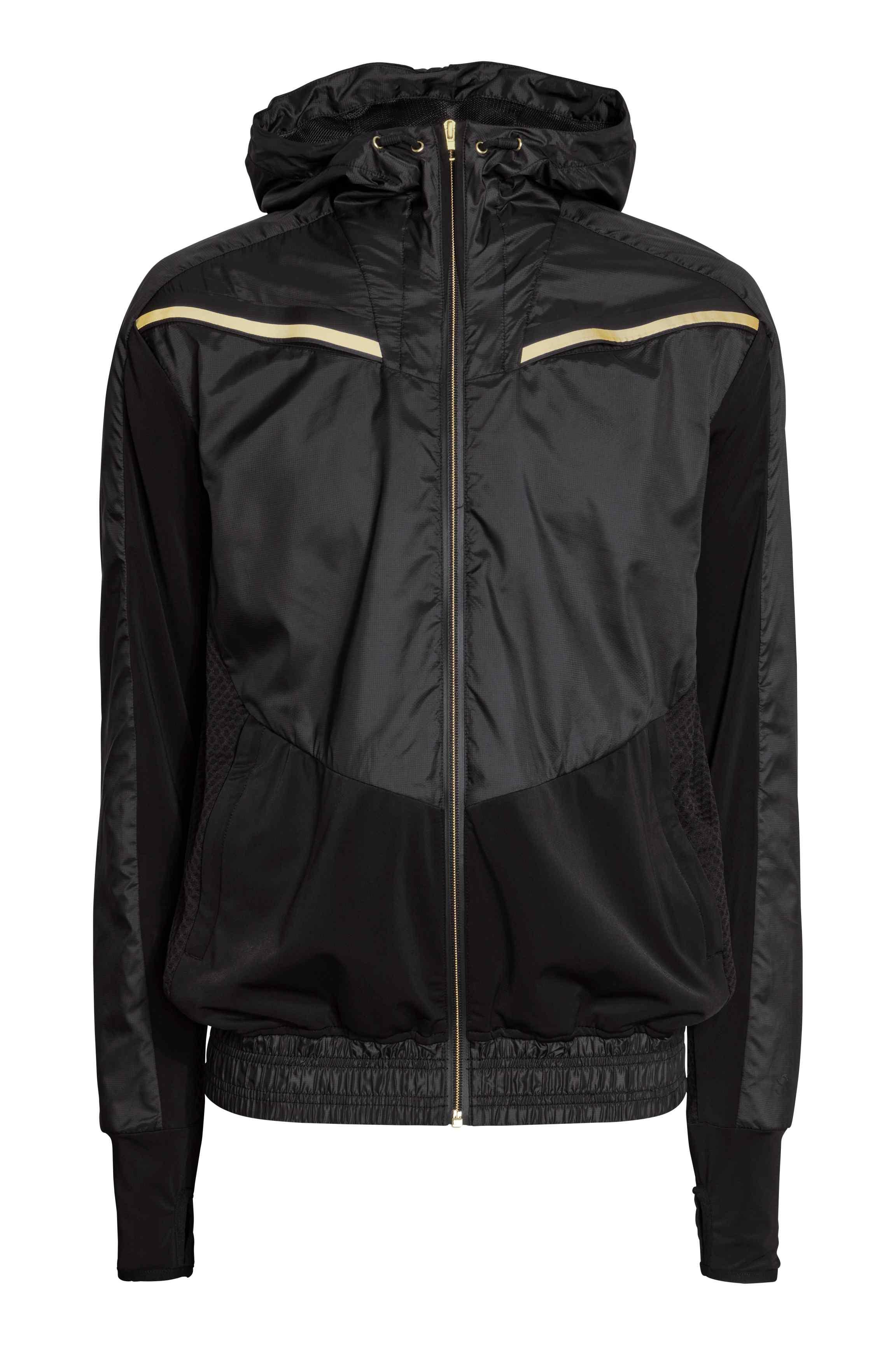 Running jacket, £39.99 ( hm.com )