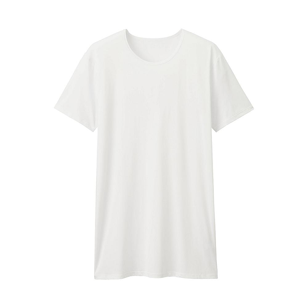 MEN AIRism crew neck short sleeve t-shirt, £7.90 ( uniqlo.com )