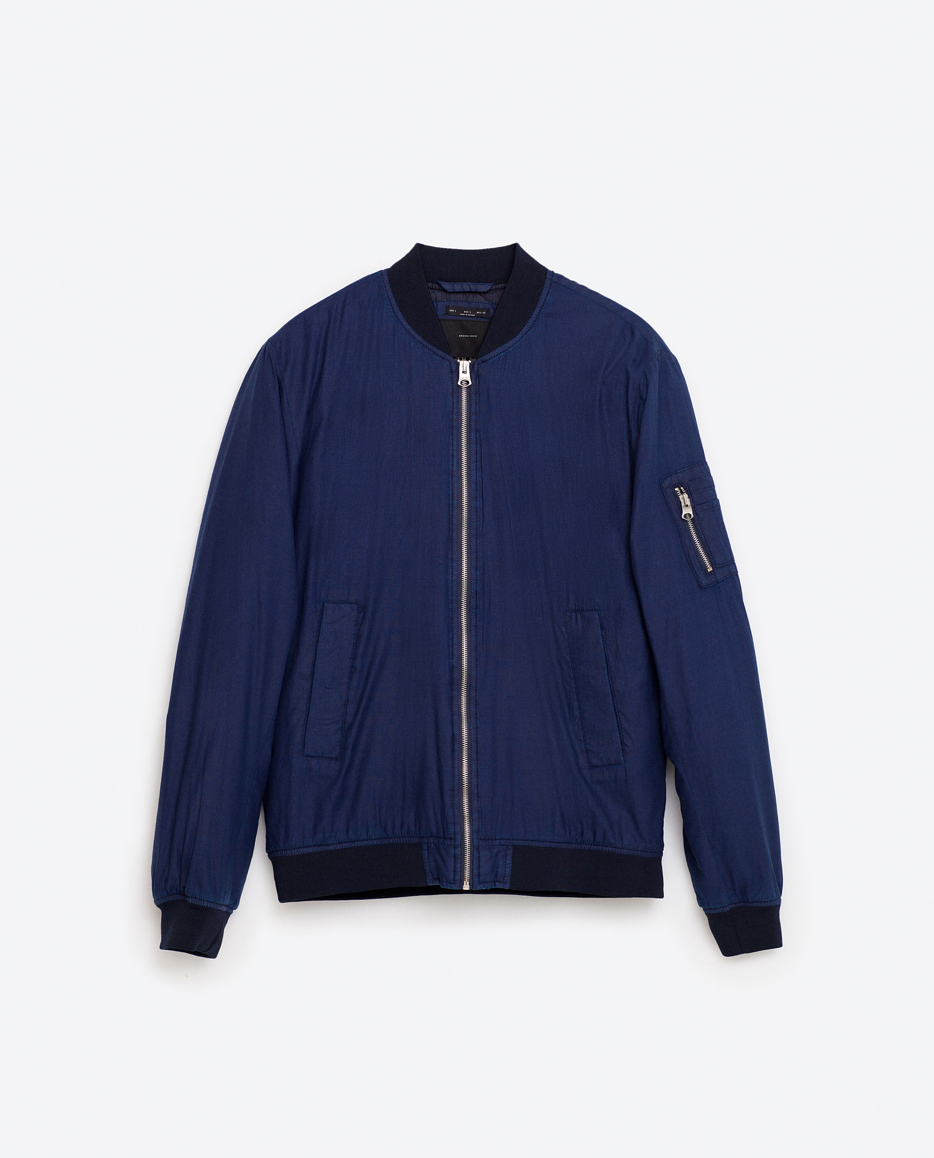 Quilted bomber jacket, £49.99 ( zara.com )