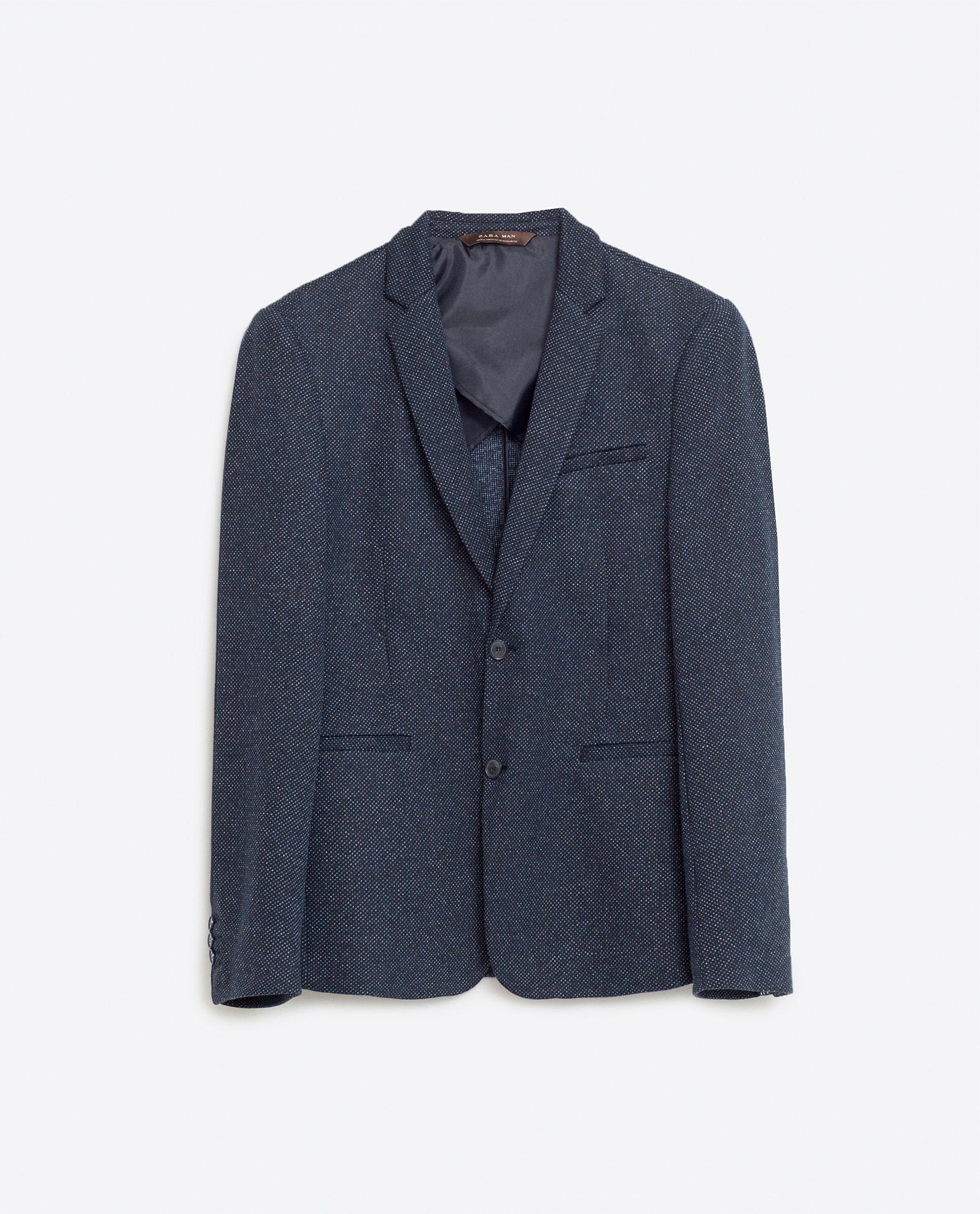 Basic blazer, £59.99 ( zara.com )