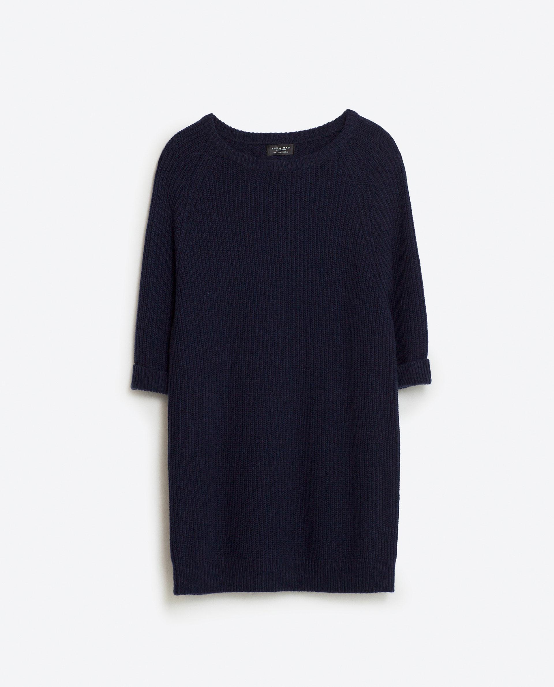 Short-sleeve sweater, £25.99 ( zara.com )