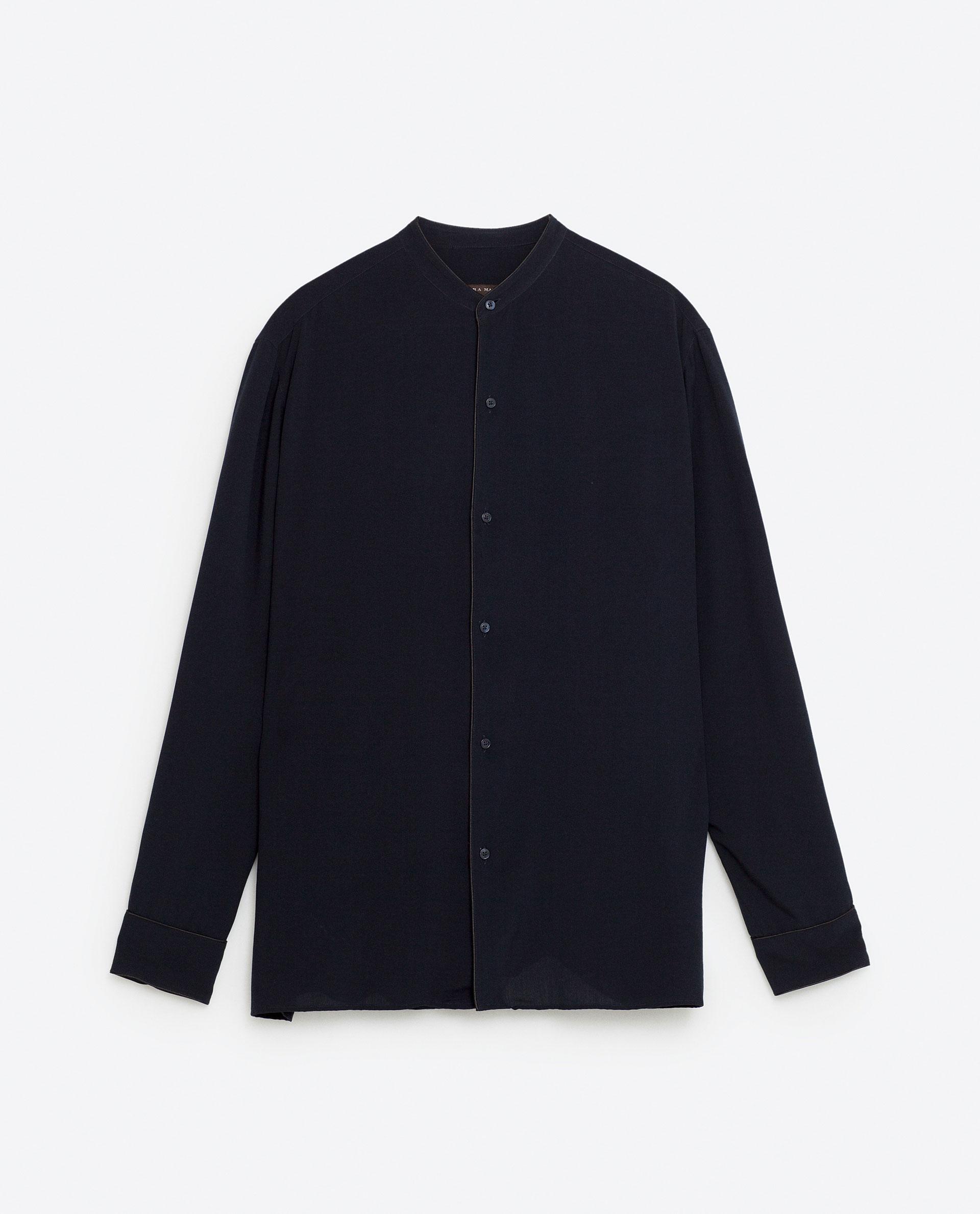 Viscose shirt, £29.99 ( zara.com )