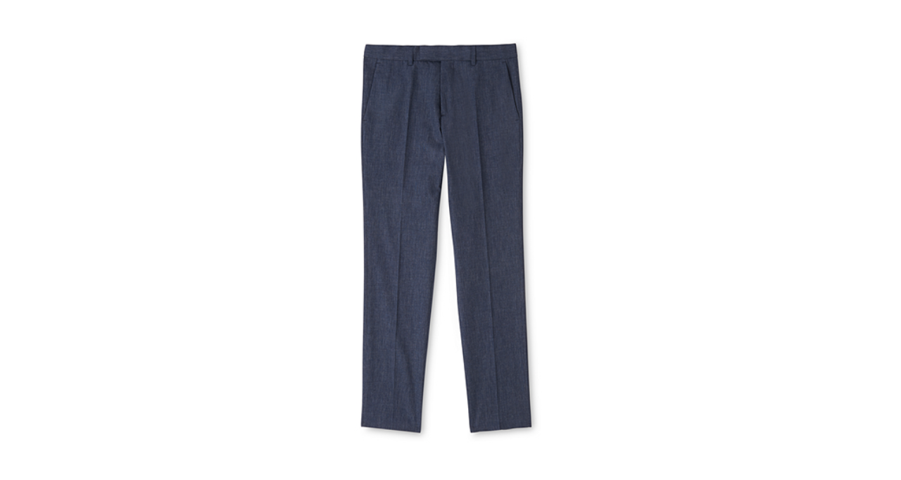 Lightweight slim-fit trousers, £110 ( whistles.com )