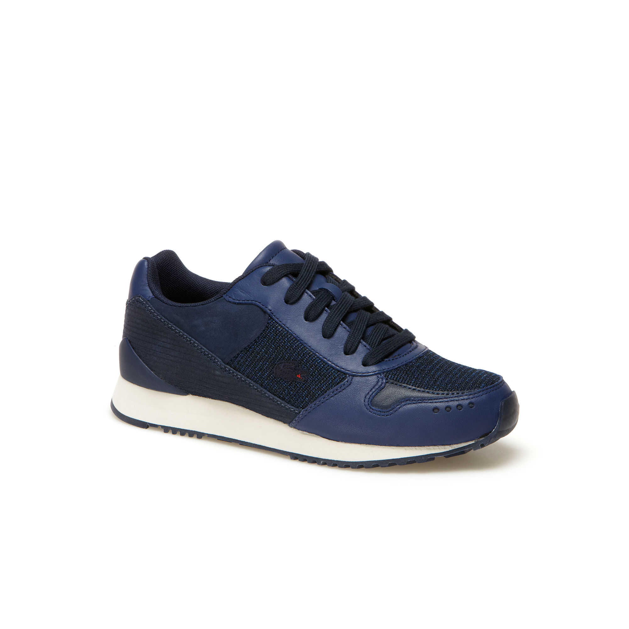 LACOSTE LIVE Trajet leather and nubuck running shoes, £85 ( lacoste.com )