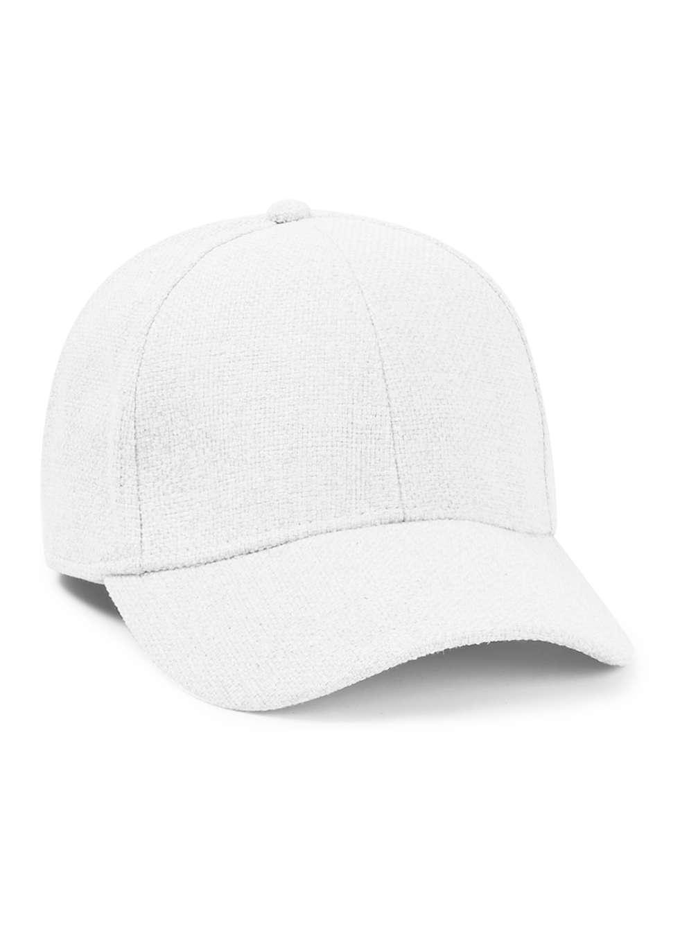 TOPMAN PREMIUM White Curved Peak Cap , £25