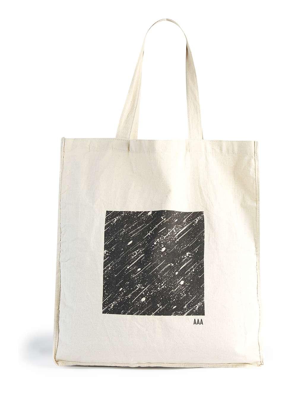 TOPMAN  AAA White Shopper Bag , £10
