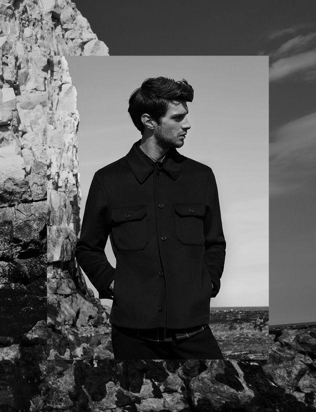 Duster worker jacket , £245  Pastrana window-check shirt , £85  Westbury slim-fit chinos , £95