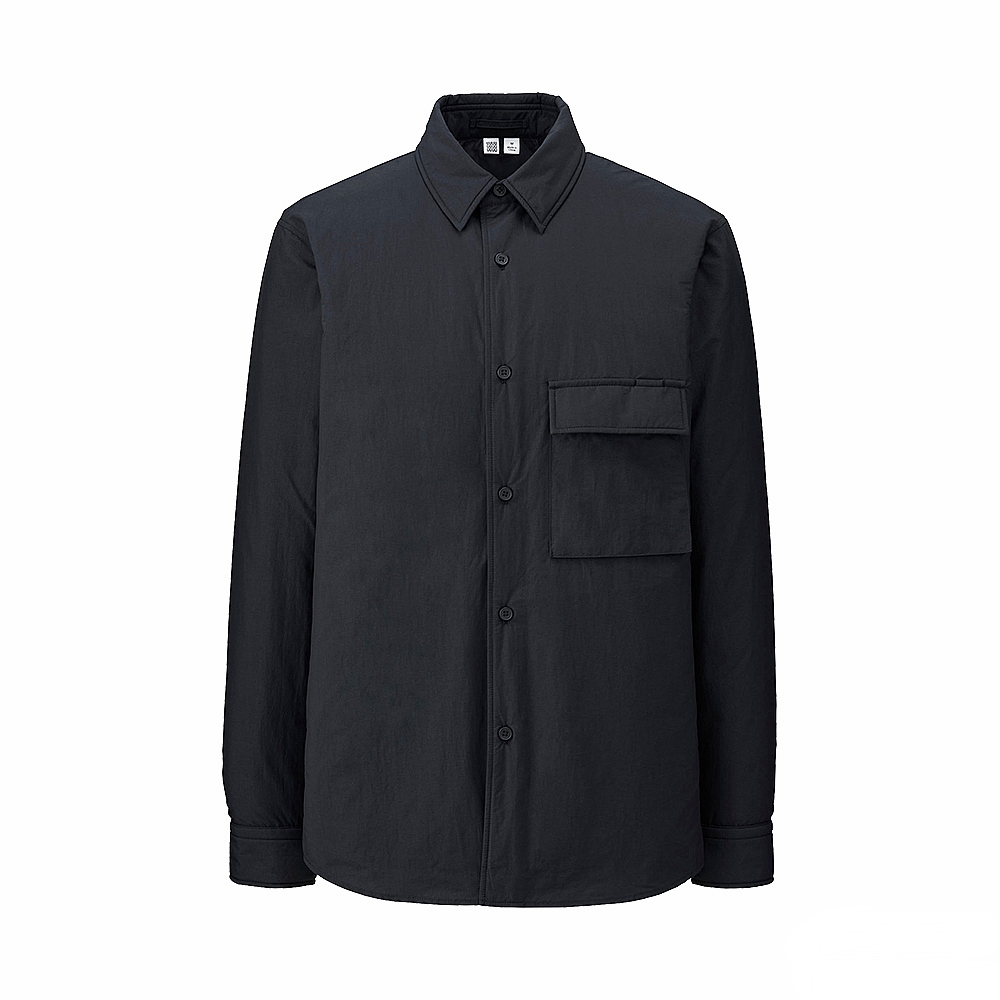 UNIQLO U light down shirt jacket, £79.90 ( uniqlo.com )