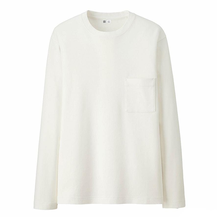 UNIQLO U Long Sleeve Crew Neck T-Shirt, £14.90 ( uniqlo.com )