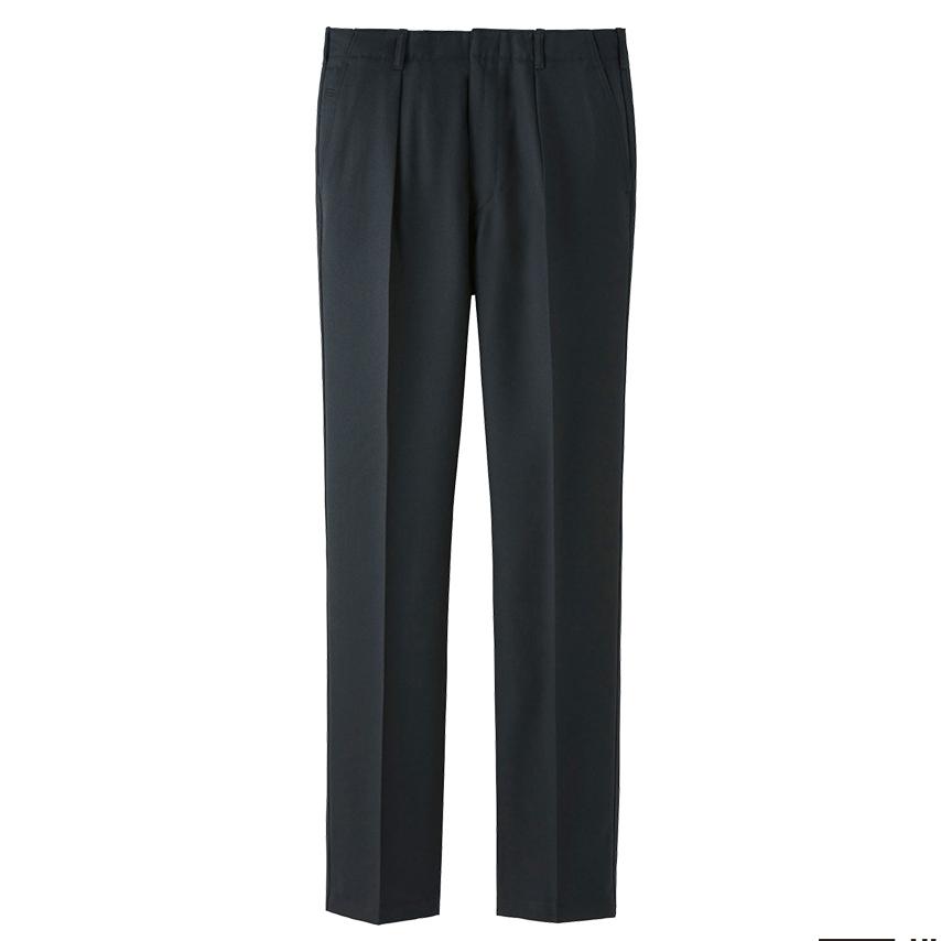 UNIQLO U wool pleated trousers, £49.90 ( uniqlo.com )