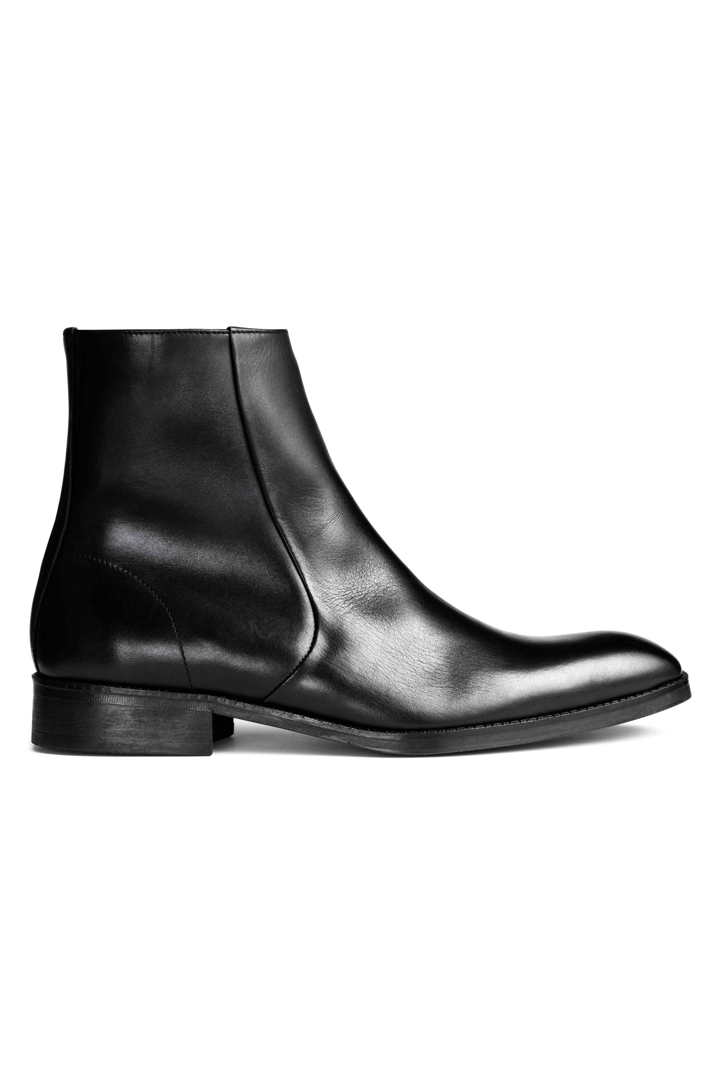 Leather ankle boots, £79.99 ( hm.com )