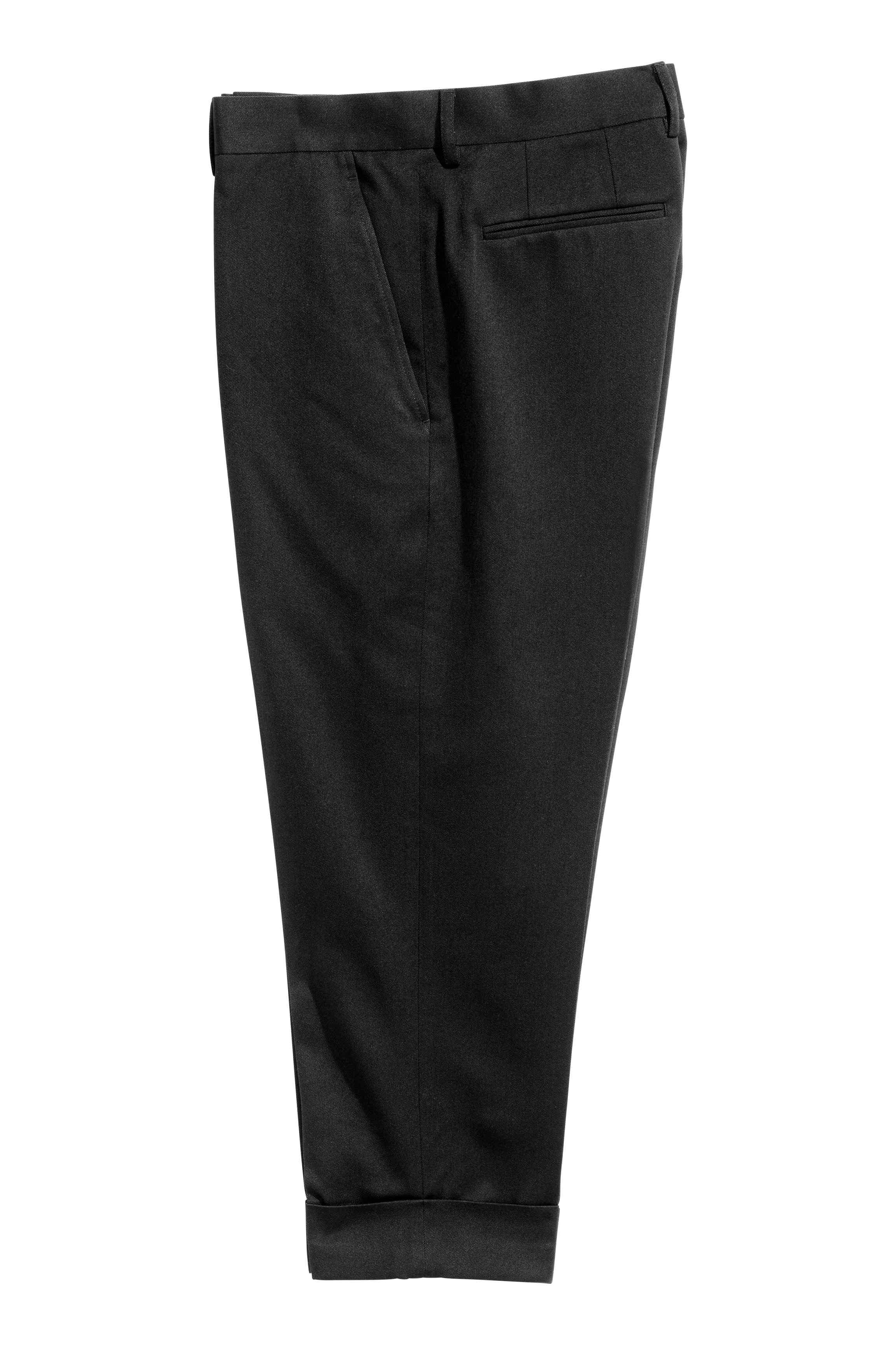 Suit twill trousers, £24.99 ( hm.com )