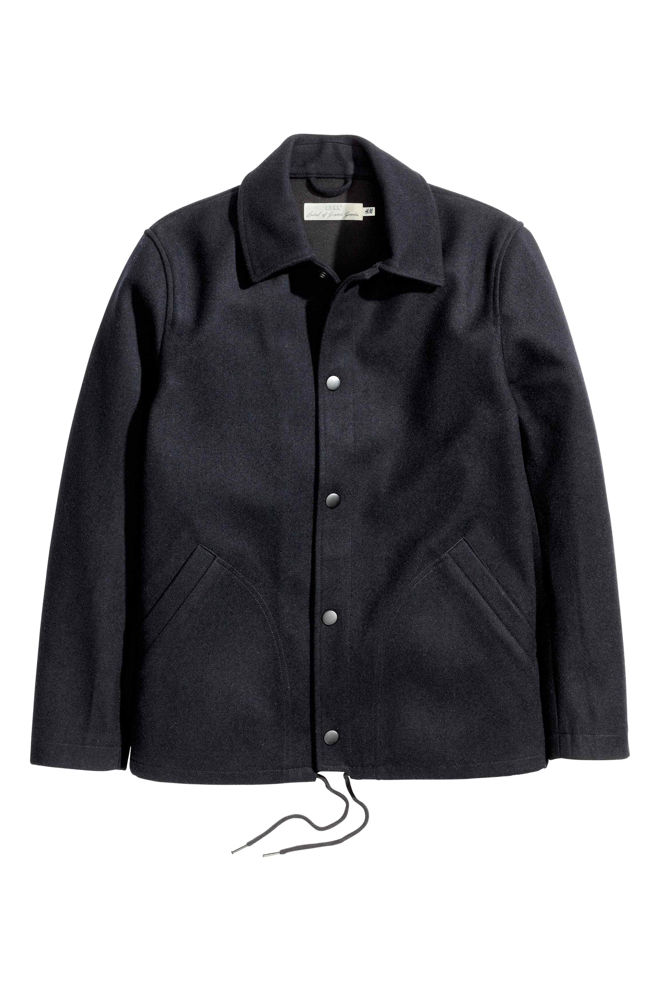 Wool-blend coach jacket, £49.99 ( hm.com )