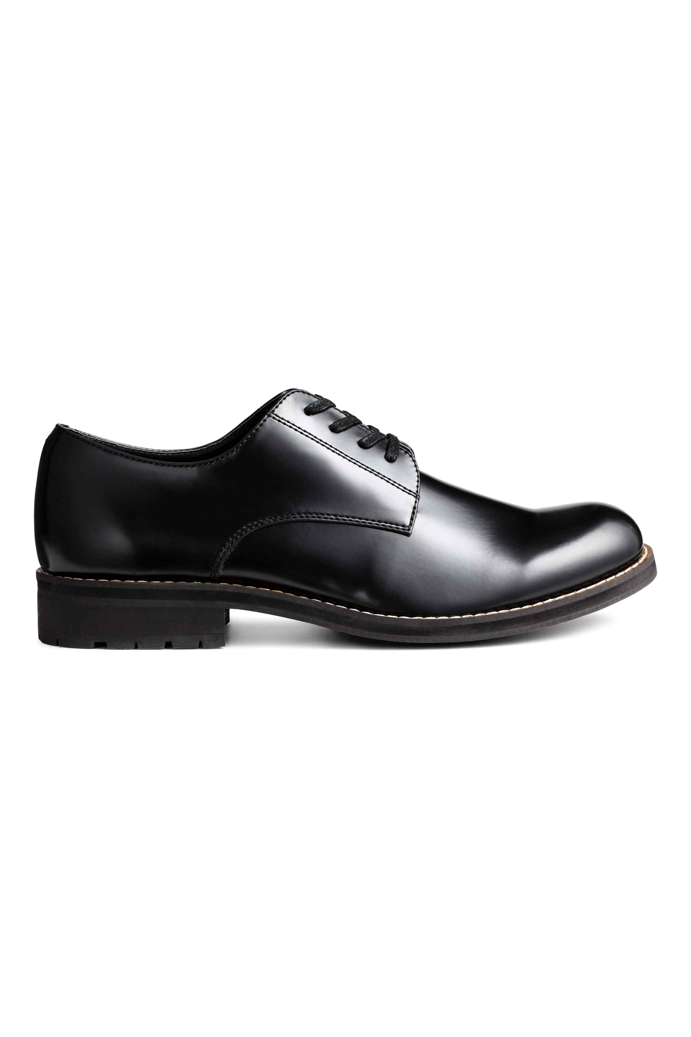 Derby shoes with chunky soles, £39.99 ( hm.com )