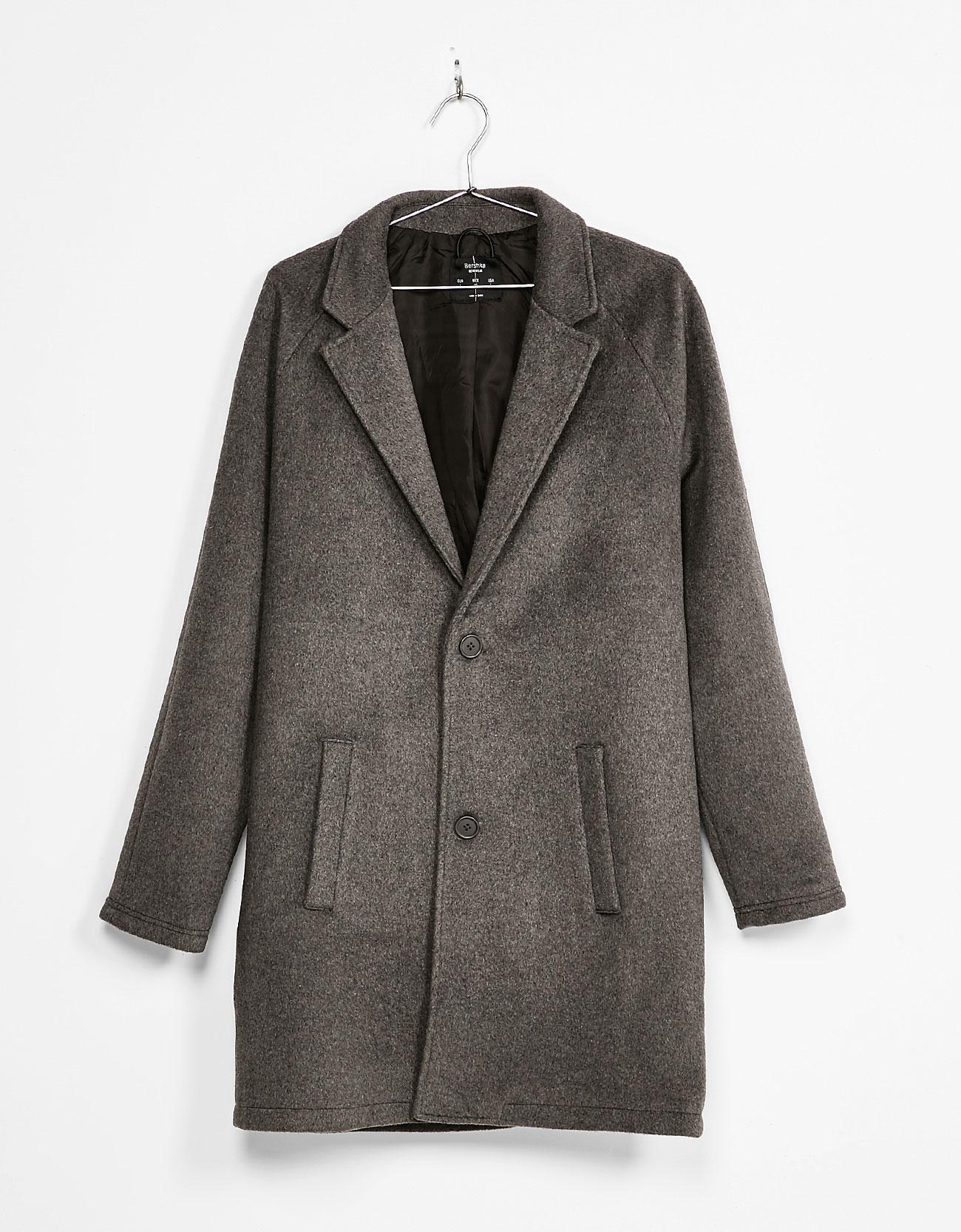 Classic cut coat, £69.99 ( bershka.com )