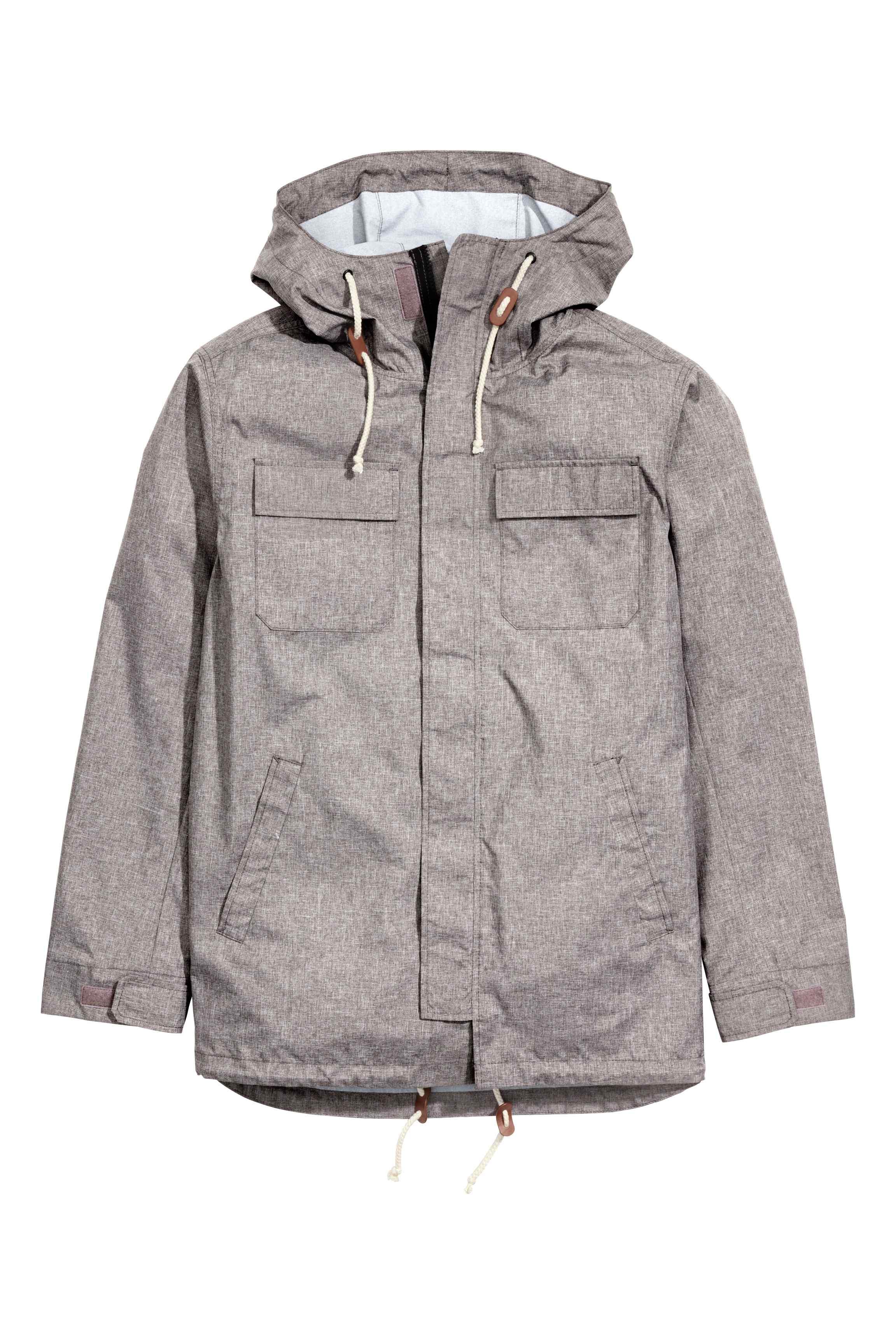 Parka with a hood, £29.99 ( hm.com )