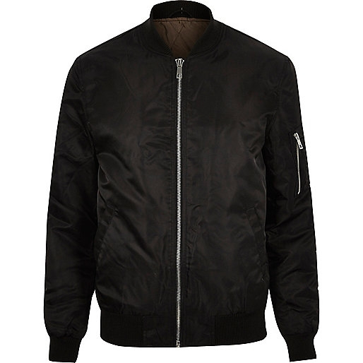 Padded MA1 bomber jacket, £55 ( riverisland.com )