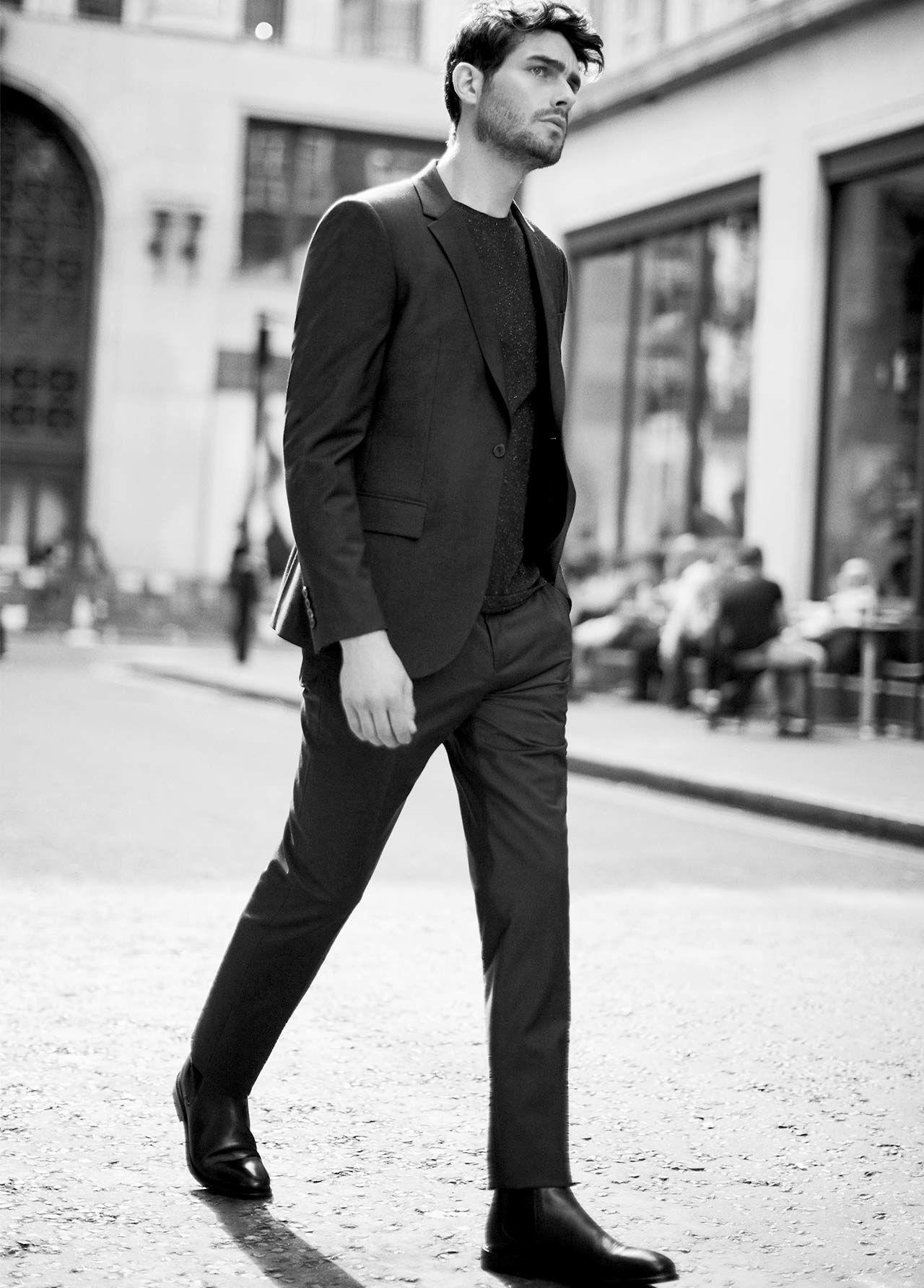 Winks slim-fit wool blazer , £275  Winks slim-fit wool trousers , £125