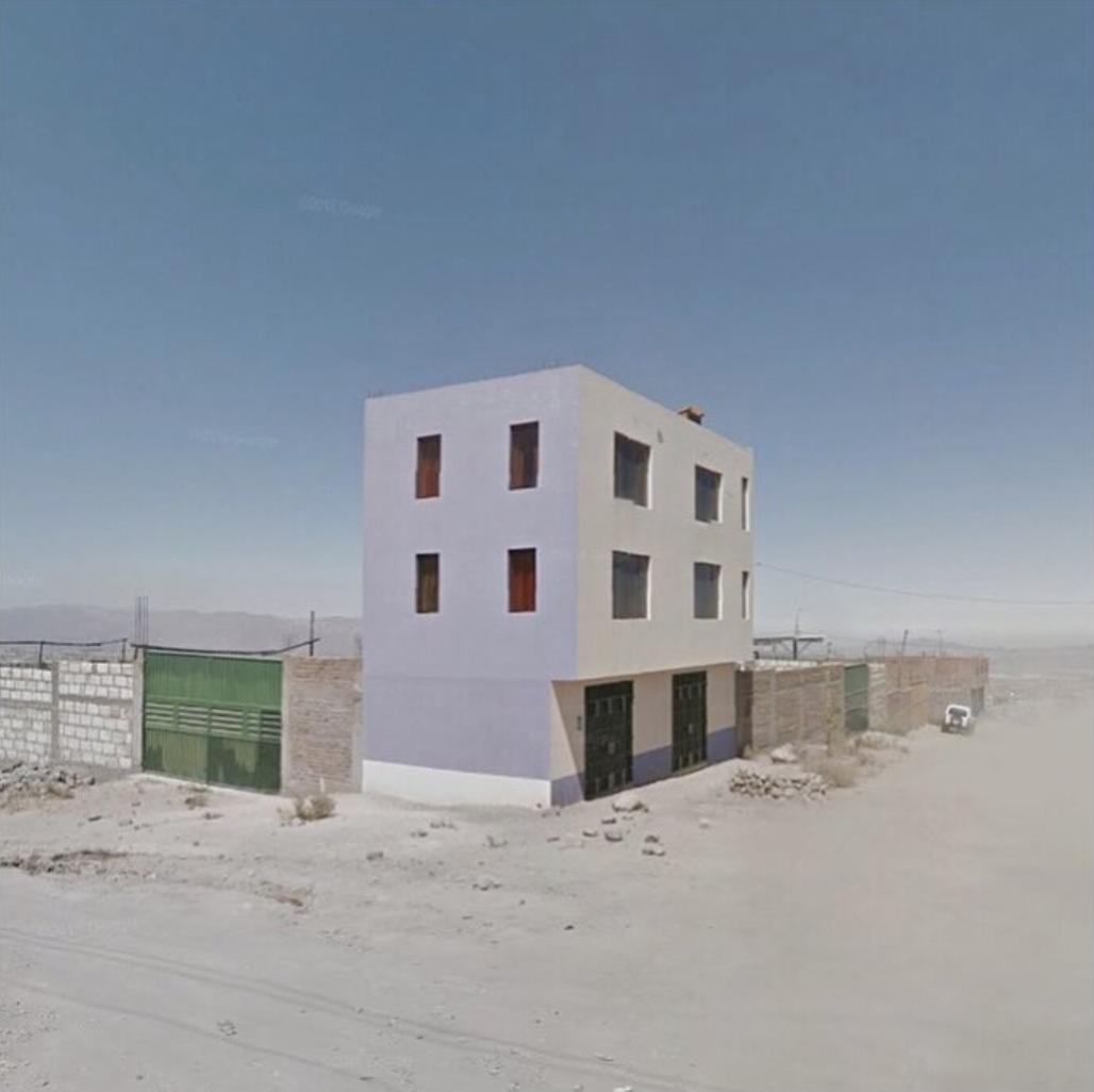 Jacqui Kenny,  Google Street View Scene - Building in Arequipa, Peru.  2017.
