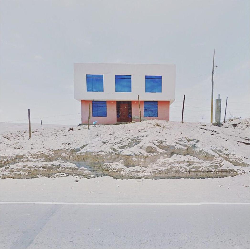 Jacqui Kenny,  Google Street View Scene - Arequipa, Peru.  2017