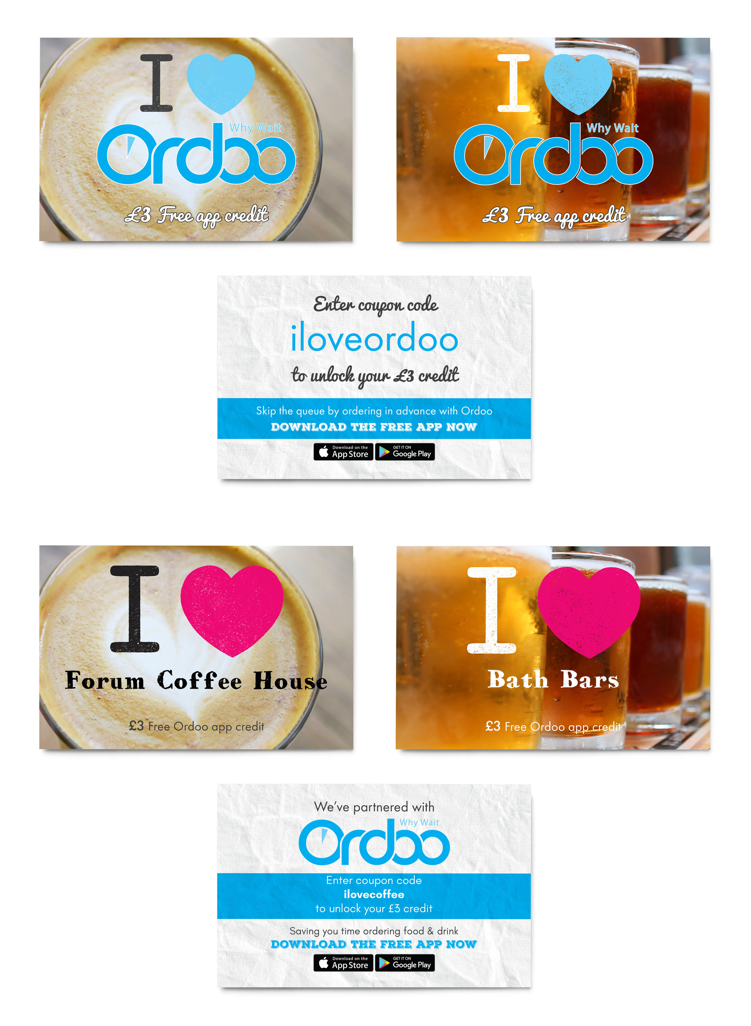 promotional business cards   versatile designs for in venues and marketing campaigns  editable pdf design for team use
