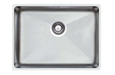 QX 4040 -                                                   UNDERMOUNT BOWL SQUARE 440X440X200                WITH  WASTE 90mm                                 BOWL SIZE: 400X400X200mmCUPBOARD SIZE: 440mm