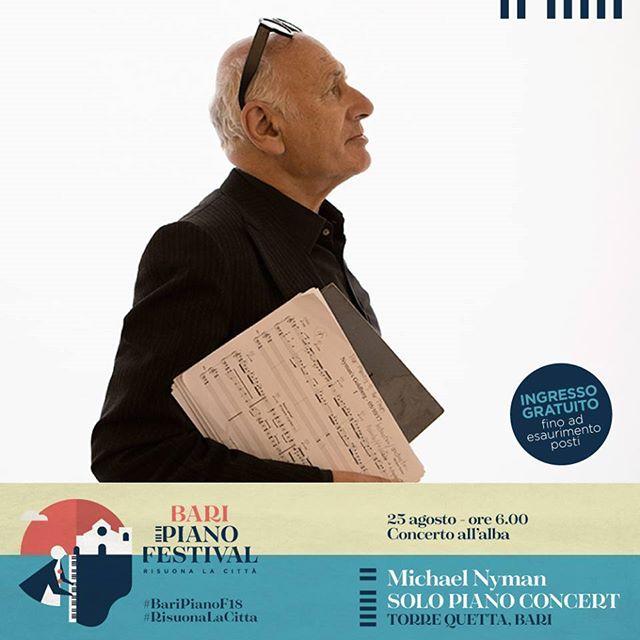 On 25 August, solo piano concert at Bari Piano Festival, Torre Quetta, Bari. Photography by Isabella De Maddalena.