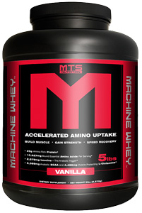 MTS Machine Whey Protein Powder Red Velvet